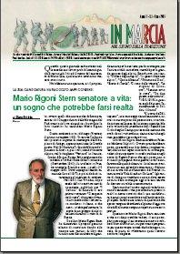 Mario Rigorni Stern senatore a vita